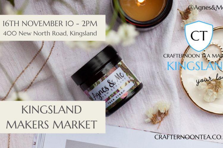 crafternoon tea kingsland
