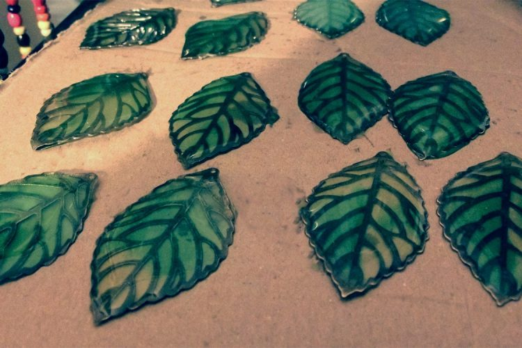 resin leaves new ideas